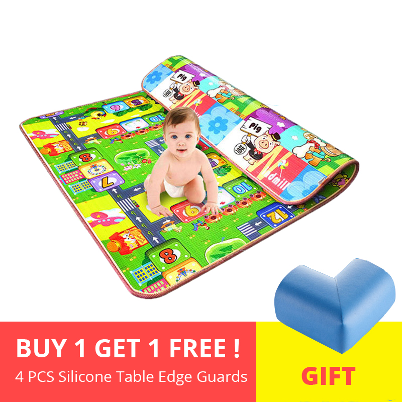 Thick Crawling Baby Play Mat Educational Alphabet Game Kids Rug For Children