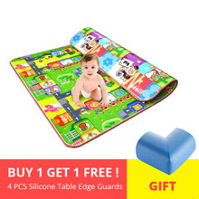 Thick Baby Crawling Play Mat Educational Alphabet Game Rug For Children Puzzle Activity Gym Carpet Eva Foam Kid Toy Developing(China)