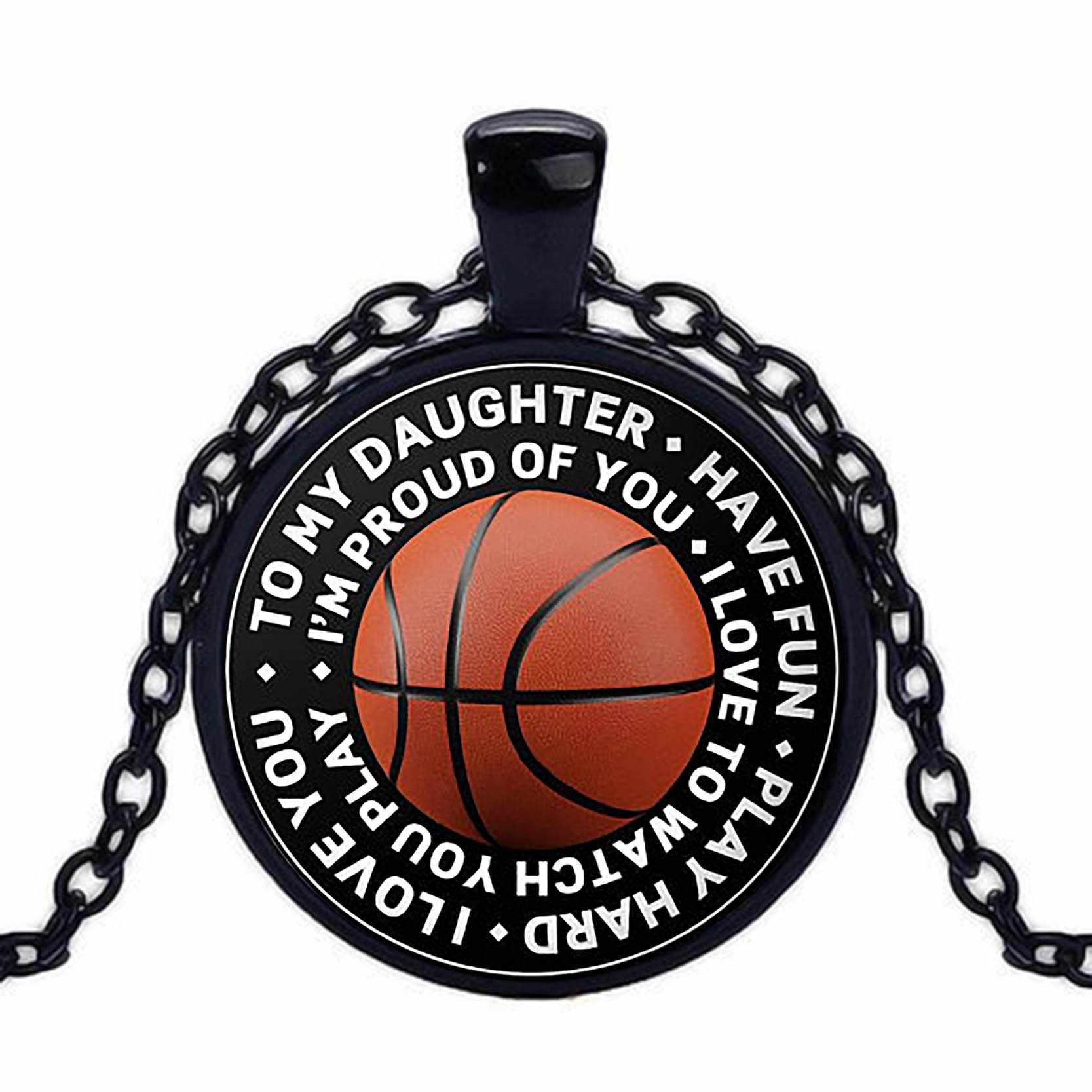 2018 nueva moda fútbol baloncesto voleibol fútbol Fútbol Tenis foto cristal cabujón colgante collar joyería