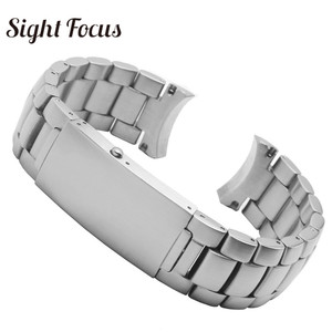 Image 5 - 20mm 22mm Stainless Steel Replacement Watch Band for Omega Seamaster 300 231 Watch Strap Metal Bracelet Folding Clasp Silver 007