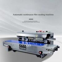 SF-150W 자동 필름 씰링 기계 연속 비닐 봉지 씰링 기계 상업 식품 가방 씰링 기계 110V/220V 500W
