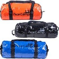 Dry Bag Duffel 40L Waterproof Fishing Beach Sack Durable Laminated Vinyl Duraflex Buckle with Handle Shoulder Strap Large Size