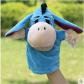 Animal Hand Puppet Dolls Plush Donkey Delicate Baby Child Zoo Farm Animal Hand Glove Puppet Finger