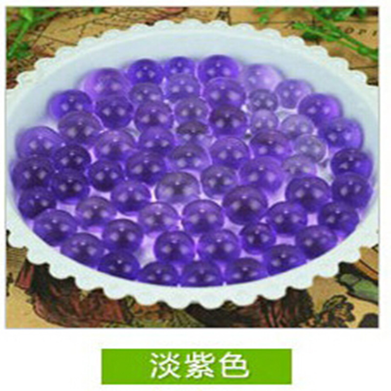 Light Purple Pearl Shaped Crystal Soil Water Beads Mud