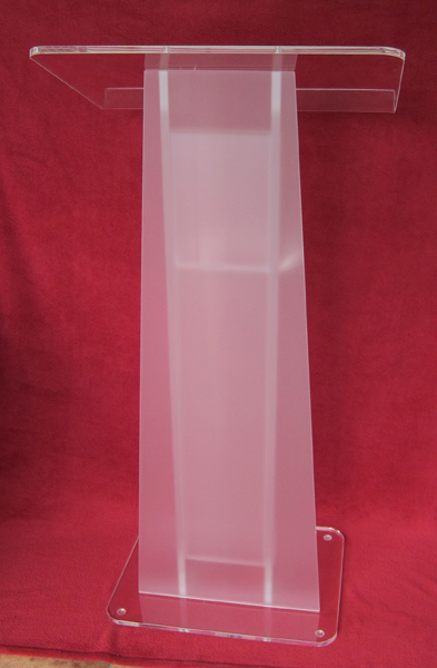 Reception Counter Table Design Small Cheap Acrylic Lectern / Plexiglass Pulpit / Perspex For Reception Area Podium Solid