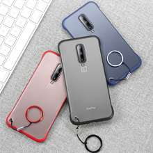 For Frameless Case for Oneplus 7 Pro Case Silicone Clear for Oneplus 7 Case for One Plus 7 Pro Coque Frosted Funda Cover Capa