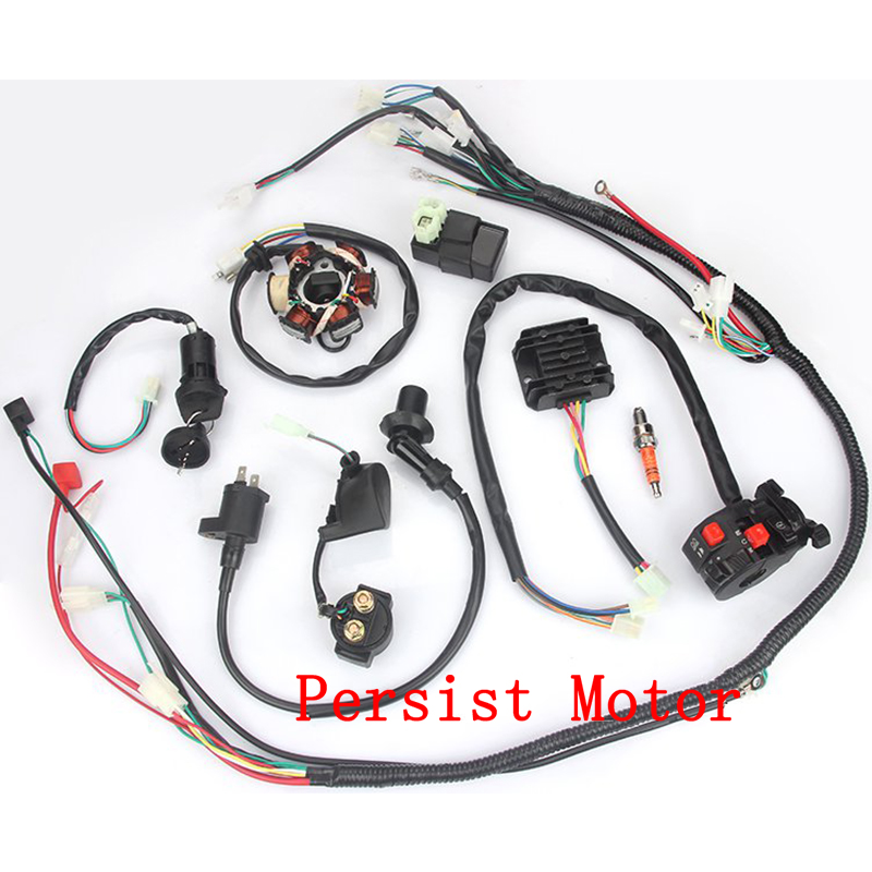 go kart gy6 wiring harness buggy wiring harness loom gy6 engine 125 150cc quad atv electric  buggy wiring harness loom gy6 engine