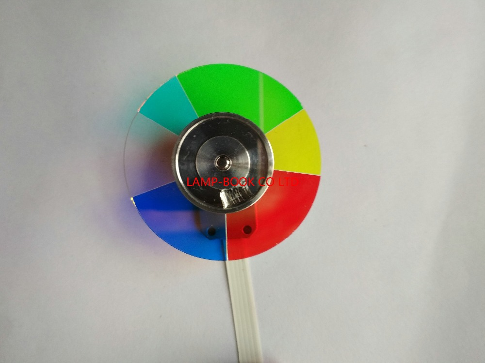 NEW ORIGINAL COLOR WHEEL FOR OPTOMA EW610ST EX539 GT750 DS326 PROJECTOR