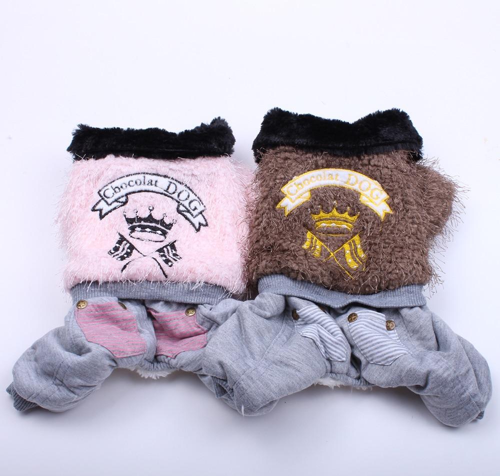 Qentë e përkëdhelur me xhaketë të ngrohtë për xhaketë Pëlhurë flamuri Dizajni i përkëdhelur Puppy Hoodie veshje e rrobave