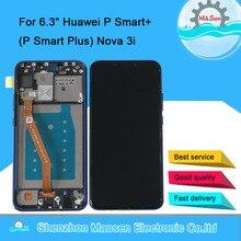 "Huawei P Smart + (P Smart Plus) 용 기존 M & Sen 6.3 ""INE LX1 INE L21 LCD 디스플레이 화면 + 터치 패널 디지타이저 프레임 Nova 3i"