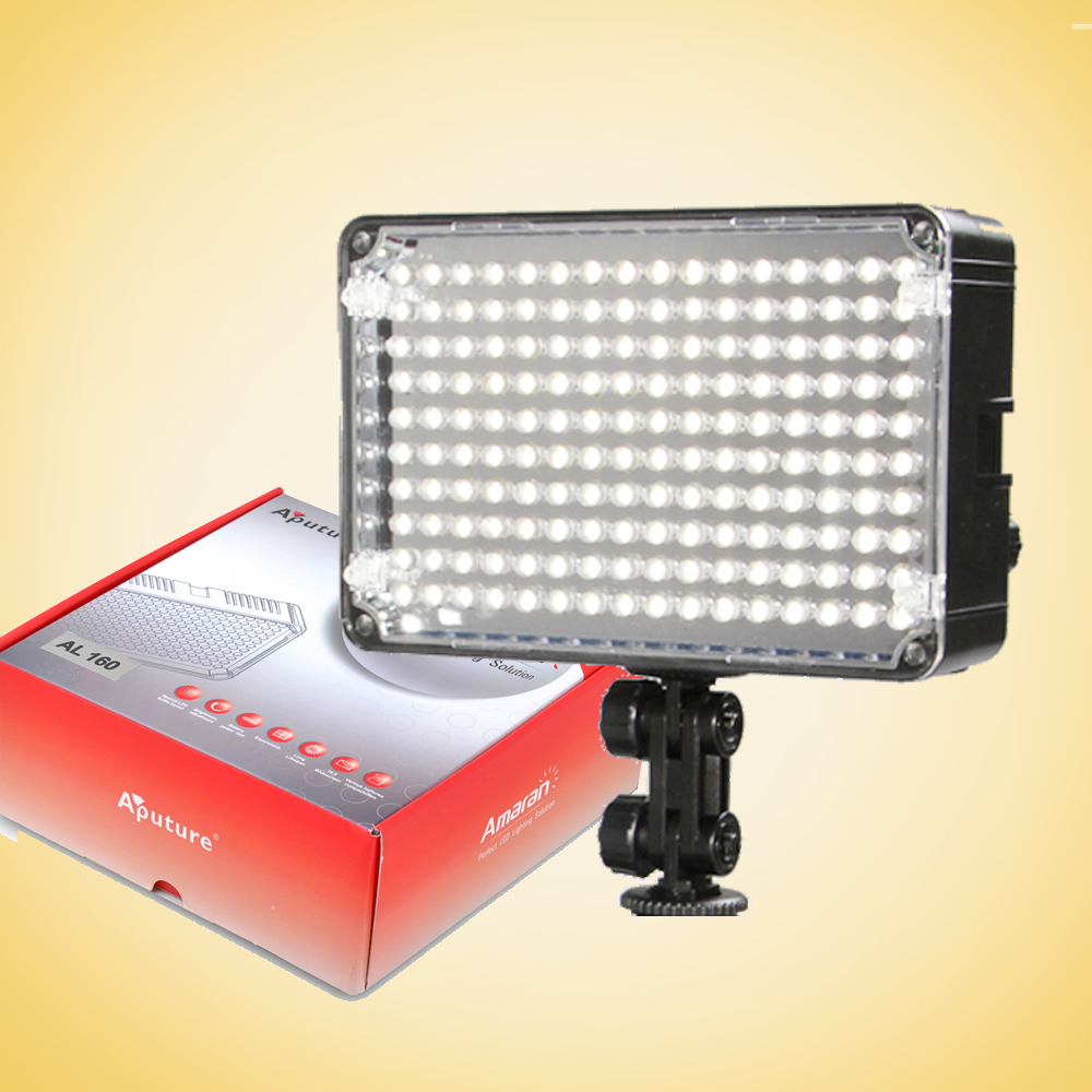 Aputure 160 LED Video Light for Camera Aputure Amaran High CRI AL H160 CRI95 Video LED