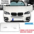 1 PCS Car Style Folding Portable Front Windshield Sun Shade Cover Case Stickers For Bmw 5 Series 320li X1 X3 X4 X6 Accessories