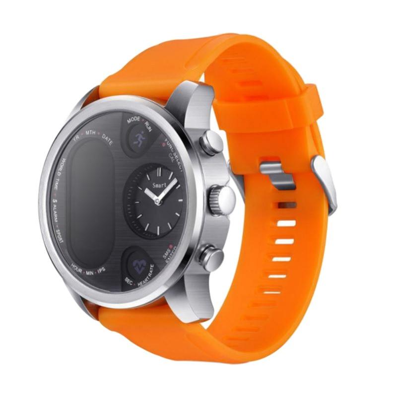 T3 Color Screen Dual Display Smart Bracelet Men s IP68 Waterproof Fitness Watch Long Standby Business