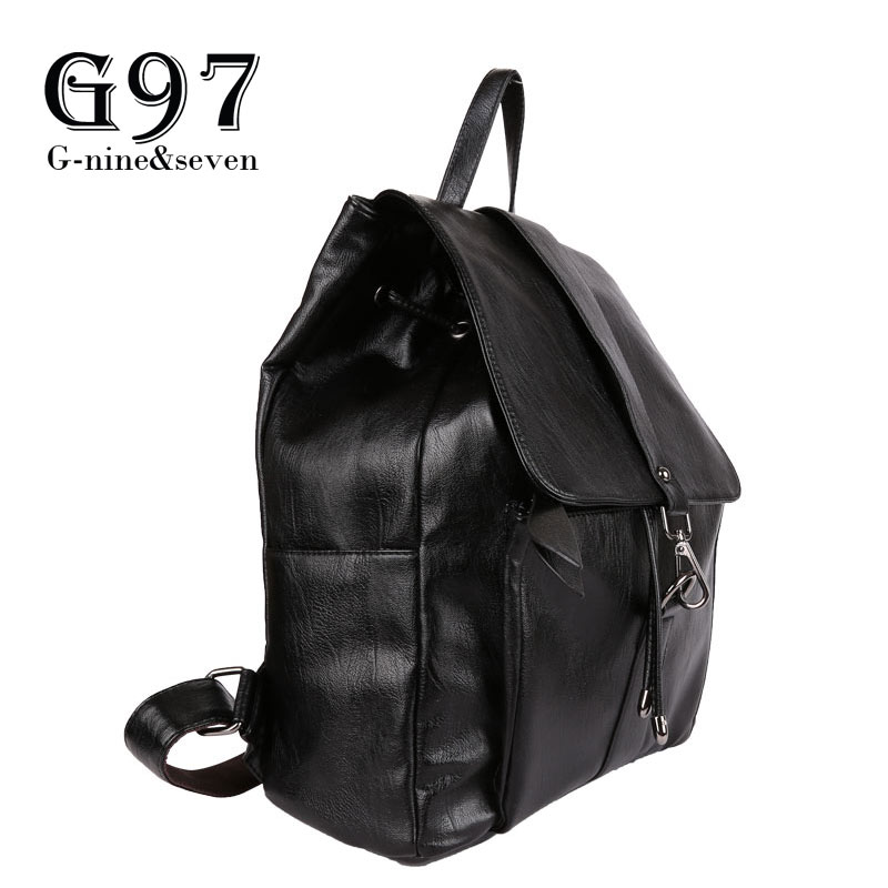 G97 New Arrival Herald Fashion Travel Backpack Design High Quality Soft PU Leather Backpack Women Bag