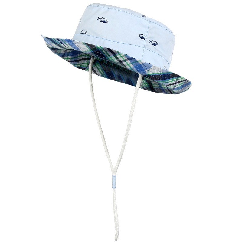 d8980f10236 Dropwow Children Baby Kids Sun Hat Cotton Fisherman Hat Children ...