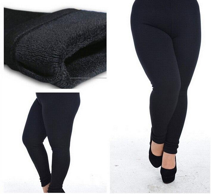 Aliexpress.com : Buy fleece lined leggings plus size Women ...