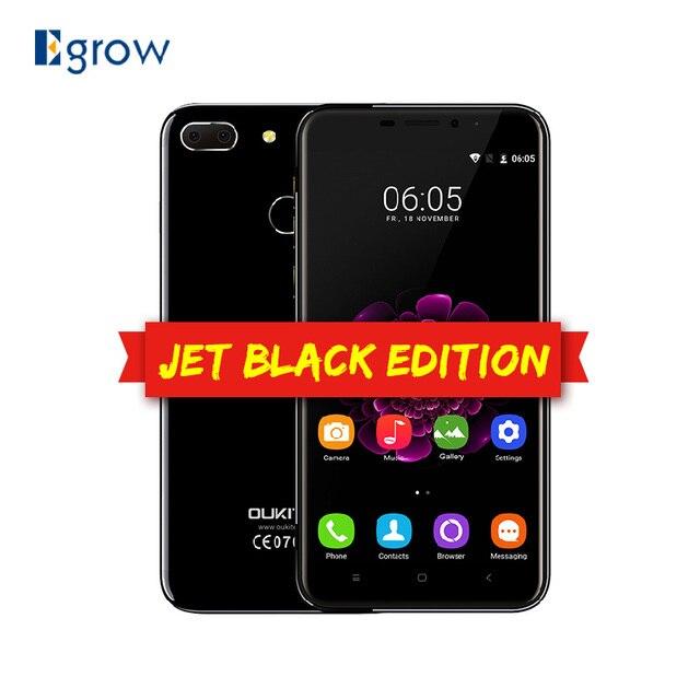 Orginal Oukitel U20 Plus Android 6.0 MTK6737T 1.5 GHz Quad Core 2G RAM 16G ROM 5.5 Inch Fingerprint Dual Back Camera Smartphone