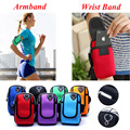 Running Armband Wrist Hand Sport Fitness Bag Pouch For Samsung Galaxy J7/A3 2016 Blackview BV6000 Accessories Phone Case Cover