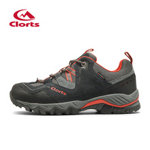 2016 Clorts Men Outdoor Shoes Nubuck Hiking Shoes Breathable Suede Trekking Shoes Athletic Sneakers for Men HKL-826