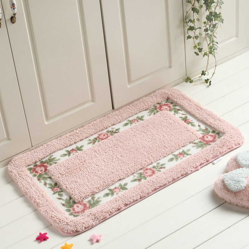 Small Fl Carpets Rug Livingroom Kitchen Absorbent Mats Soft Thick Non Slip Home Decoration In Carpet From Garden On Aliexpress Alibaba