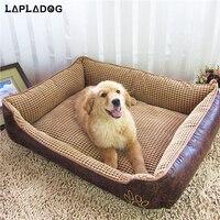 LAPLADOG Gorąca Sprzedaż duża Dog House Bed Waterproof Komfortowy Dom Duży Pies Łóżka Kennel Pet Puppy Kryty Pet Products ZL79