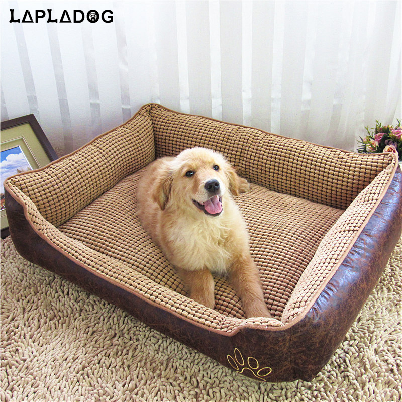 lapladog hot sale large dog house bed waterproof comfortable pet house big dog beds kennel puppy