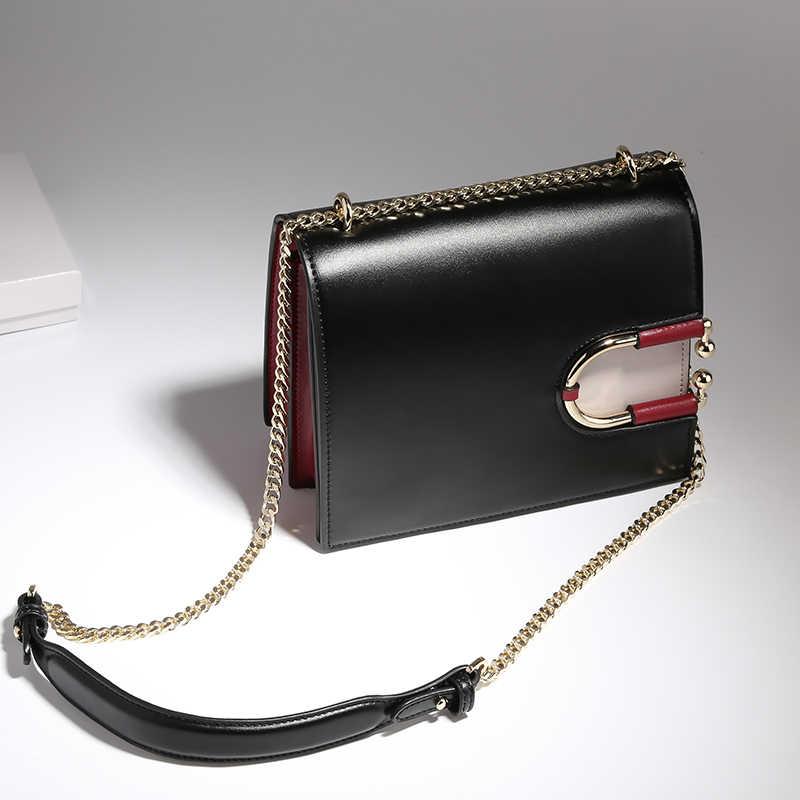 d4ba959c4448 Для женщин 2018 новая сумка Роскошные Сумки сумка женская Дикая мода Сумка  Высокое качество кожи вечерние