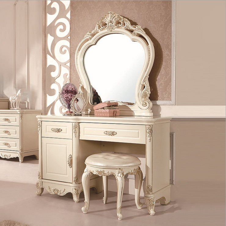 Special Supply European Dressing Table Bedroom Combination
