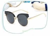 Di alta qualità degli occhi fresco occhiali da sole polarizzati occhiali da sole per bambini ragazza ragazzo 4-12 anni i bambini trasporto auto telaio cat eye occhiali da sole