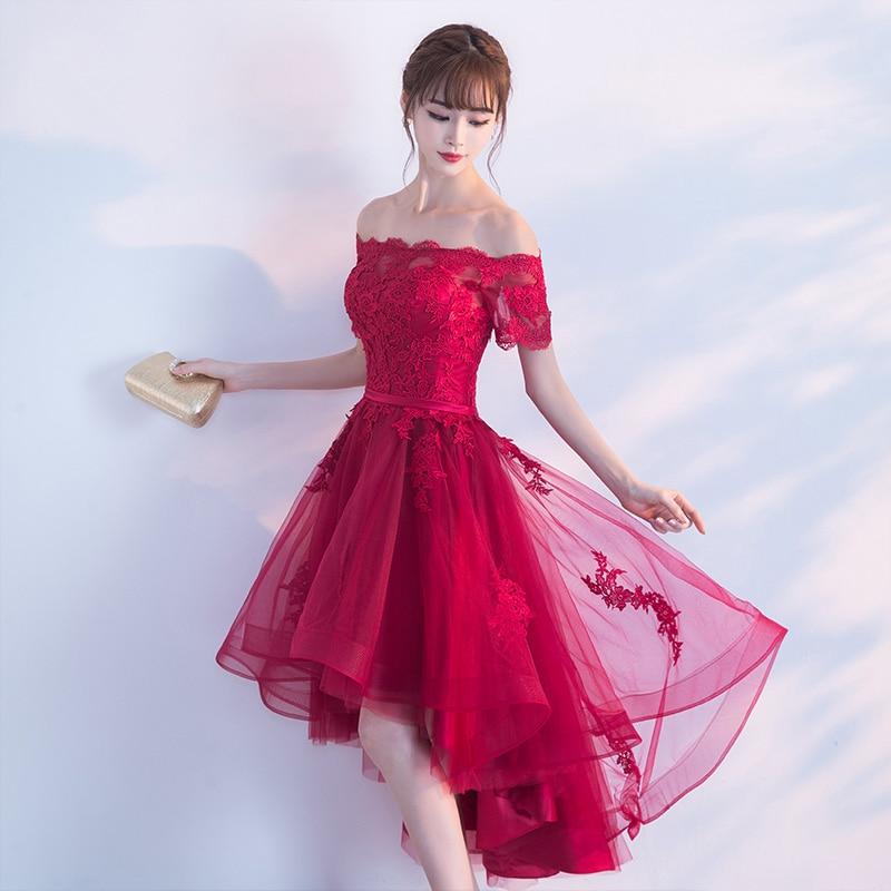 PotN'Patio Μικρά Καπέλα Μανίκια Off Ρούχα Prom - Ειδικές φορέματα περίπτωσης - Φωτογραφία 2