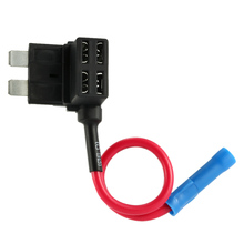 Middle Type In Line Standard Fuse Holder Car Automotive Circuit Security 12V 30A