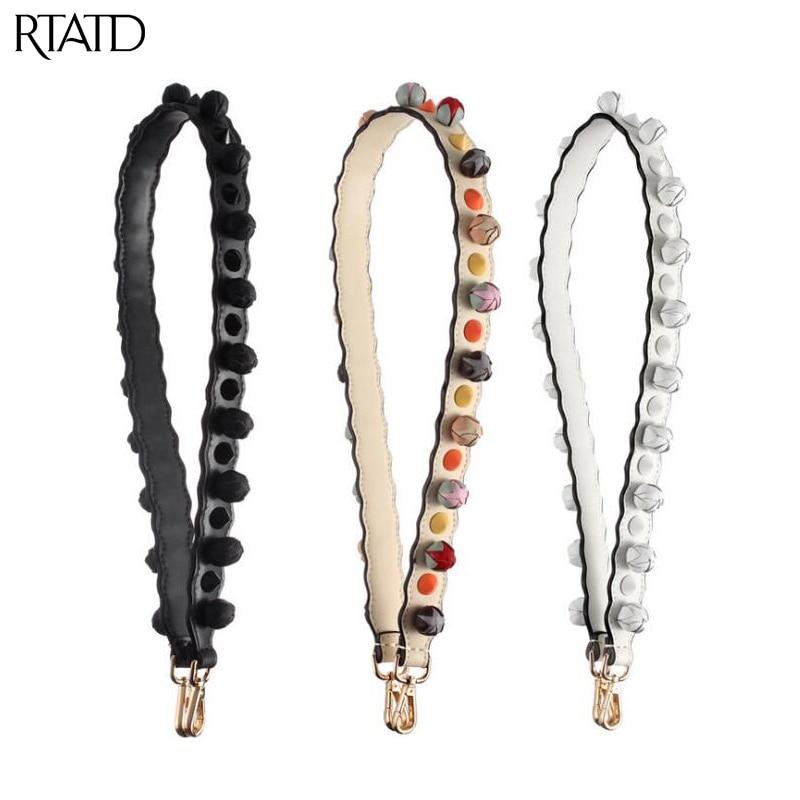 RTATD New 3D Flower Design Women Bag Strap Fashion Long Lady Shoulder Straps Chic Handle For Women Bag Belts B327