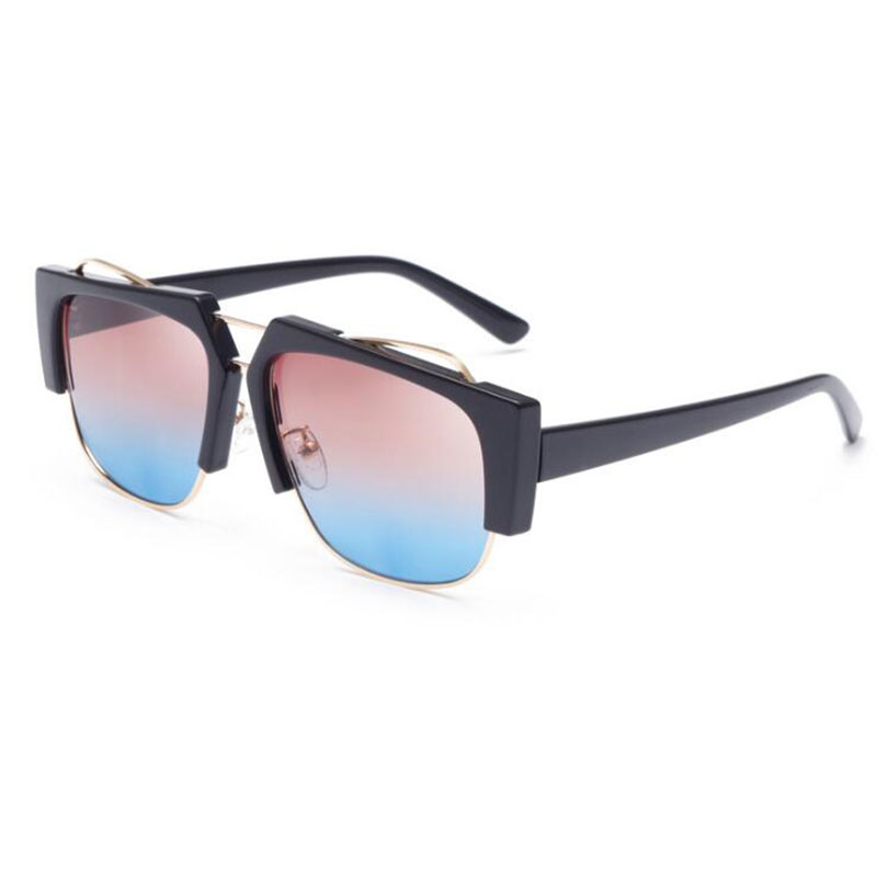 Fashion Universal Sunglasses Creative Gradient Colors High-quality Sun Glasses New Prescription Eyewear for Men and Women