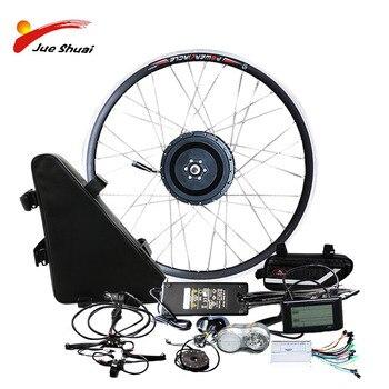 JS-Kit de Bicicleta eléctrica de 1000w con batería, batería de 48V, Kit...