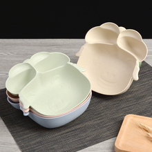 Cartoon GG-Bond Pig Baby Dinner Table Set Pure natural wheat straw Lovely Lunch Tray Dishes Kids Bowl Dinnerware Children\u0027s Plas & Popular Pig Dinnerware-Buy Cheap Pig Dinnerware lots from China Pig ...