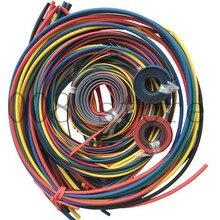 Darmowa wysyłka 55 m/zestaw NO.1 20 11 rodzajów stosunku 2:1 rurki termokurczliwe zestawy termokurczliwe przewody zestaw termokurczliwa rurka Sleeving