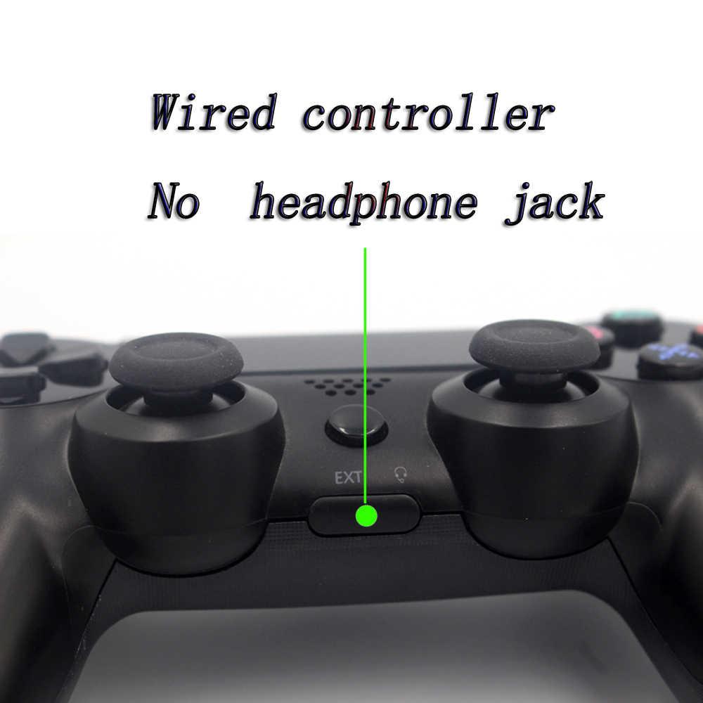 JIE LI Wired PS4 Controller Bluetooth Gamepad For Sony PlayStation  Dualshock 4 Vibration Joystick No battery No Headphone Jack