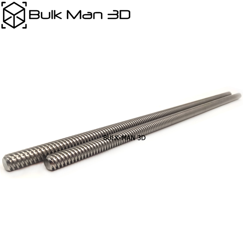 Stainless Steel 8mm T8 Acme Lead Screw T8 Trapezoidal Threaded Rod for CNC Machine 3D Printer