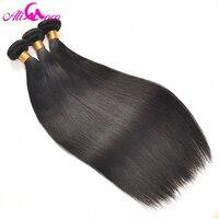 Ali Coco Brazilian Straight Hair Bundles 3pcs Lot 100 Human Hair Bundles No Remy Hair Weave