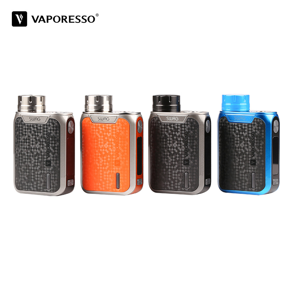 Original 80W Vaporesso Swag TC Box Mod Vape With Upgradable Omni 2.0 Chipset VT TC VW Smart modes Fit For NRG SE NRG Tank E Cig цена