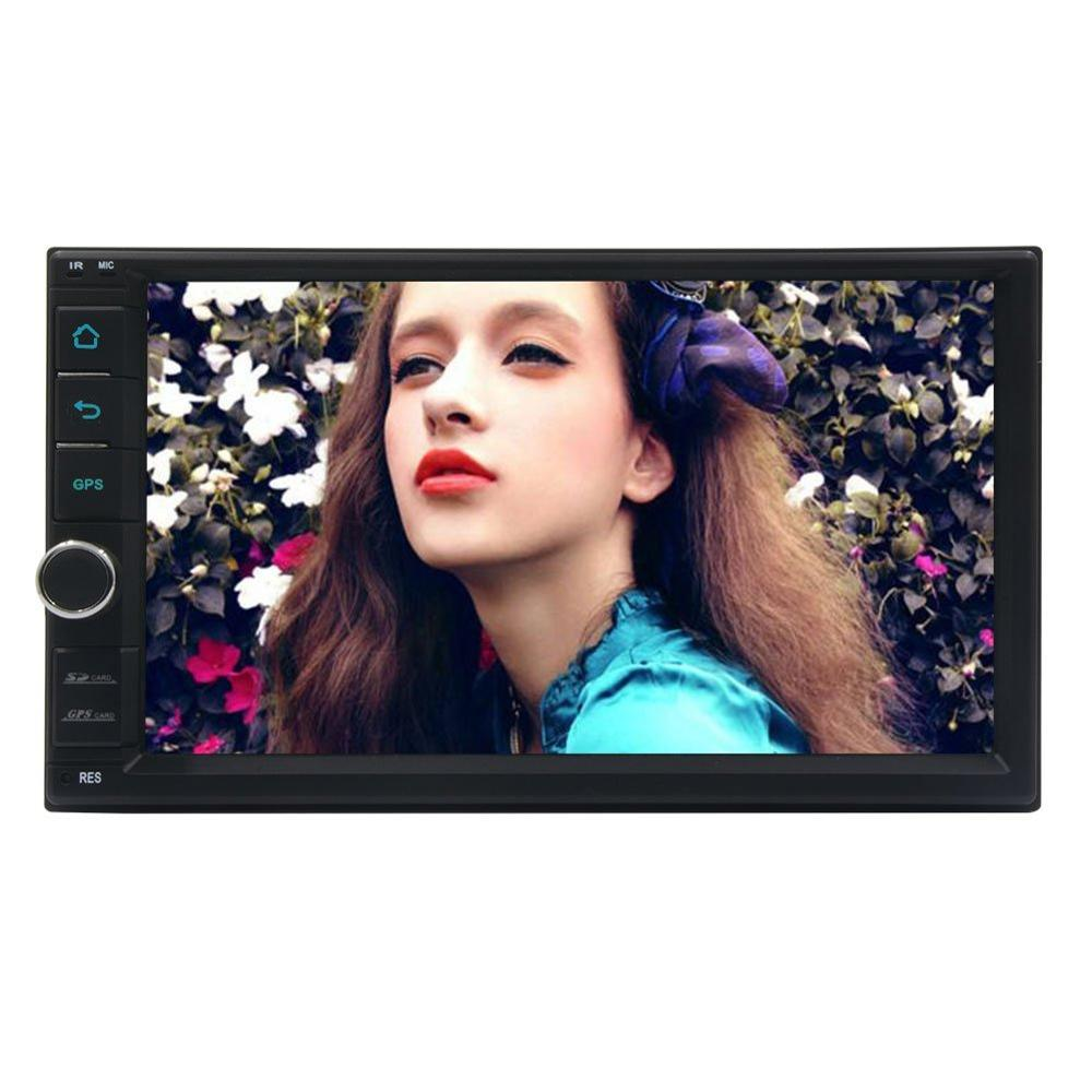 Anroid 6.0 Car Deck Auto Stereo Car NO DVD Player Radio Head Unit Double 2 Din Auto GPS Entertainment 1080P Wifi Mirrorlink SWC