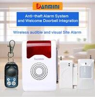 Danmini Home Security PIR MP Alert Infrared Sensor Anti Theft Motion Detector Alarm Monitor Wireless Alarm