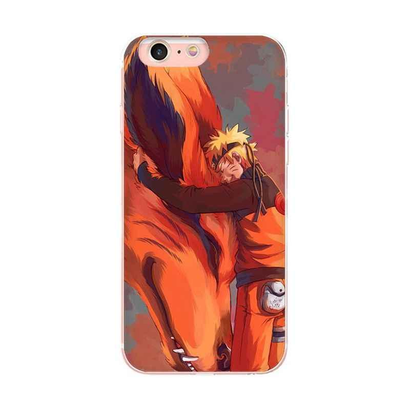 MaiYaCa ナルト文字 iphone 7 6s DIY 塗装美しい電話のための iphone × 7 7 プラス 8 8 プラス 5 5S