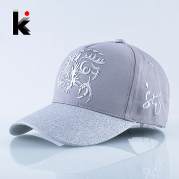 Spring Embroidery Baseball Cap Men Snapback Hip Hop Hats For Women Fashion Flashing Visor Kpop Caps Casual Dad Bones Masculino 1