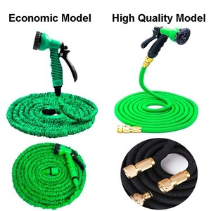 Image 2 - Hot Sale 25Ft 200Ft Expandable Garden Hose Magic Flexible Water Hose Eu Watering Hoses Pipe With Spray Gun,Car Wash