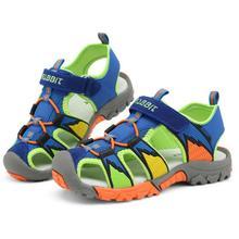 Été Garçons Sandales Nouveau 2017 Casual Enfants Plage Chaussures de Sport de Haute Qualité En Caoutchouc Enfants Enfants Sandales Sandale Fille