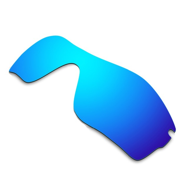 HKUCO Mens Replacement Lenses For Oakley RadarLock Pitch Sunglasses Blue/Black Polarized nznKwv
