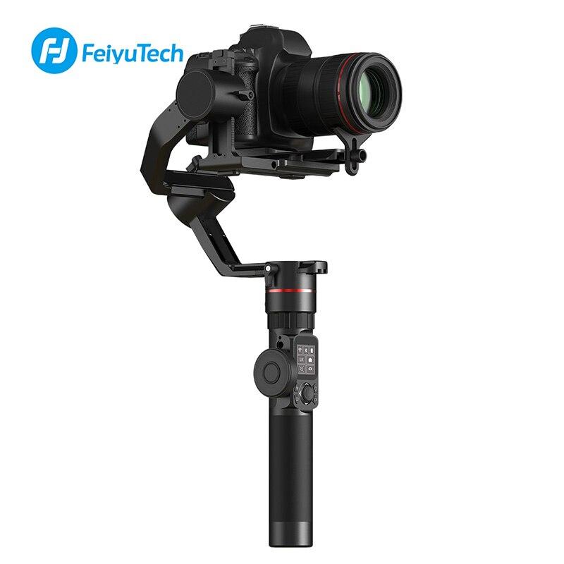 Feiyu AK2000 3-Assi 2.8 KG di Carico DSLR Della Macchina Fotografica Stabilizzatore per Sony Canon 5D Mark III IV 6D 80D nikon D850 Macchina Fotografica Handhled Giunto Cardanico