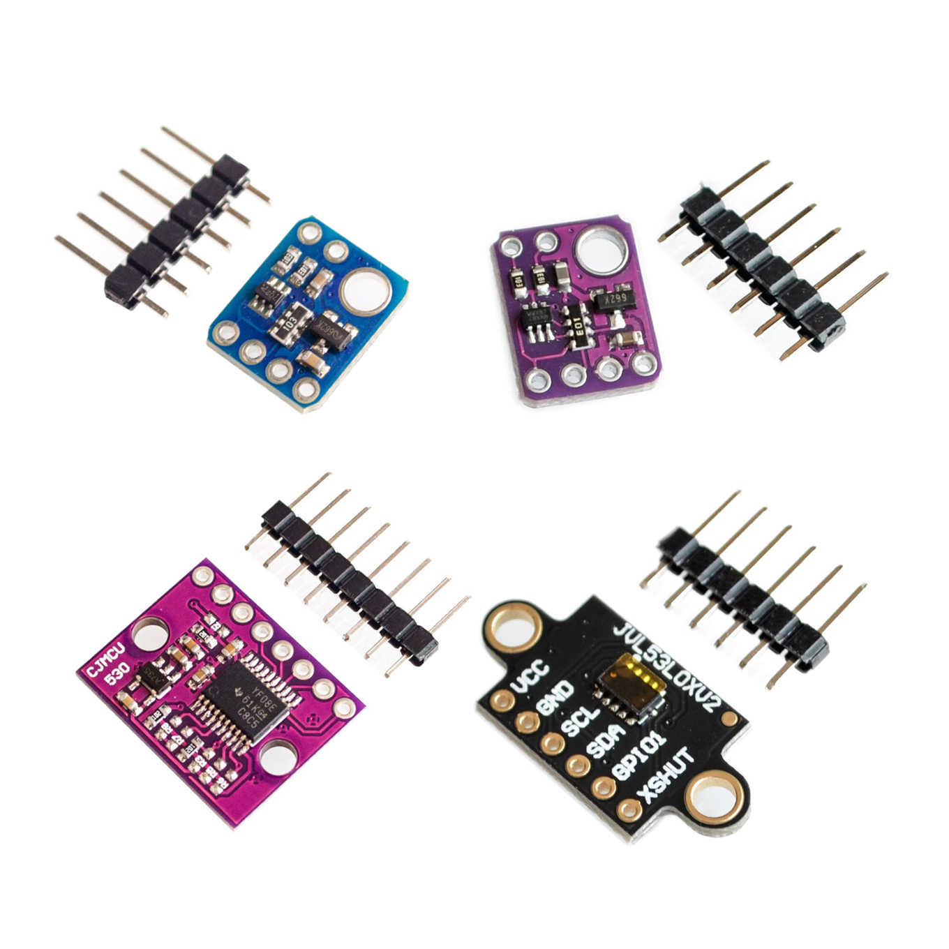 1pcs GY-530 Original VL53L0X World smallest Time-o f-Flight (ToF) laser ranging sensor 2.8 - 5V IIC Communication For Arduino