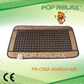 POP RELAX Far infrared thermal heating Germanium tourmaline mattress PR-C06A soft 45x80cm CE